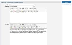 Náš redakčný systém - Rozšírené vlastnosti
